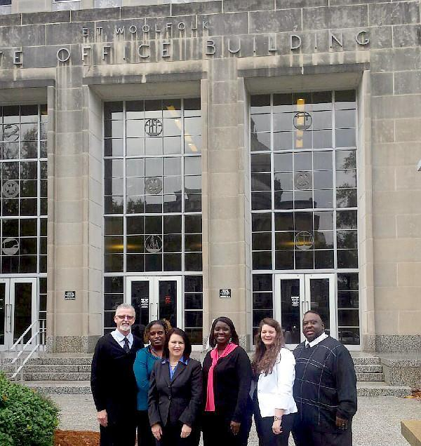 Representatives Of The Marshall County School District And Community Traveled To Mississippi Department Education Offices Monday Dec